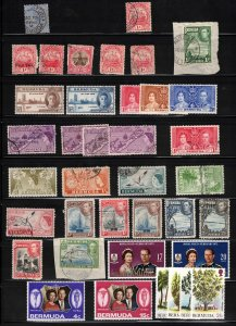 BERMUDA - Lot of Stamps Mint & Used Many Different Periods