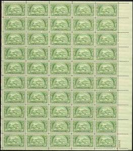 US  #987 BANKERS ASSOCIATION 75TH ANNIVERSARY  SHEET OF 70