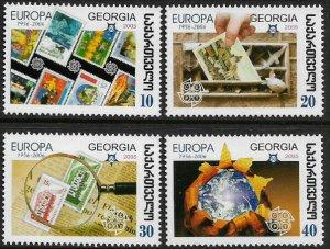 Georgia #390-3 MNH Set - Europa Stamps 50th Anniversary