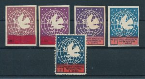 [102931] Albania 1946 Bird vogel oiseau doves Perf. And Imperf. MNH