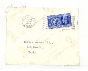 AD58 1948 GB Skegness Lincs Cover PTS