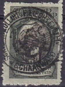 Liechtenstein  #67  F-VF Used  CV $10.50 (Z3155)