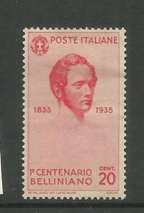 ITALY, 349, HR, VINCENZO BELLINI