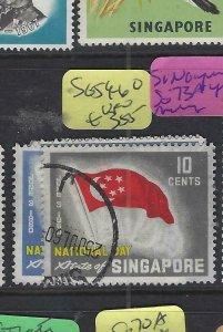 SINGAPORE  (PP2901B)  NATIONAL DAY  SG 59-60     VFU