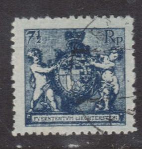 Liechtenstein #58 Used