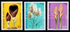 [67016] Ivory Coast 1981 Flora Flowers Blumen Blossom Bluten  MNH
