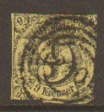 Thurn & Taxis #12 Used