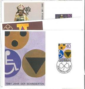14742    HANDICAPED  MEDICINE: MAXIMUM CARD - LIECHTENSTEIN 1981