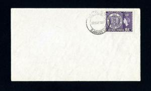Southern Rhodesia # 79 FDC Uncacheted and Unaddressed Dated 5-30-1953