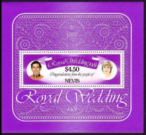 Nevis Royal Wedding MS SG#MS78