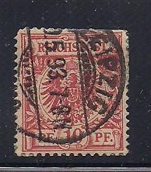 Germany Sc. # 48 Used Mi. #47 L28