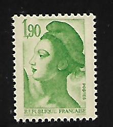 FRANCE 1880 MNH LIBERTY TYPE
