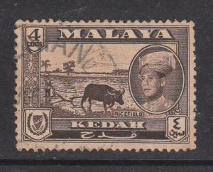 Malaya Kedah 1959 Sc 97 4c Used