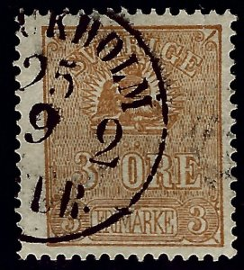 Sweden SC#13 Used F-VF....Real Deal!!