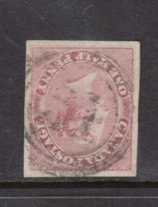 Canada #8 XF Used With 4 Ring 31 Cancel **With Certificate**