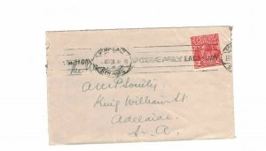 APH1482) Australia 1931 2d Red KGV Die I Small Cover