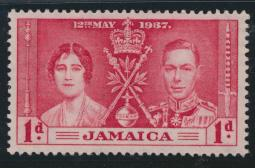 Jamaica SG 118 Mint never hinged  SC# 113    Coronation see details