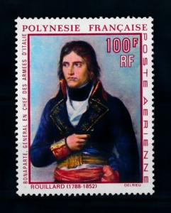 [71595] French Polynesia 1969 Napoleon Painting Airmail Stamp MNH
