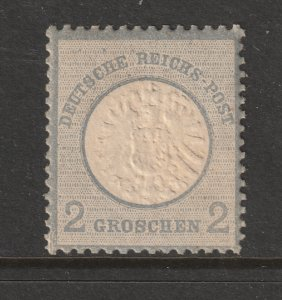 Germany a MH 2gr Eagle large shield from 1872