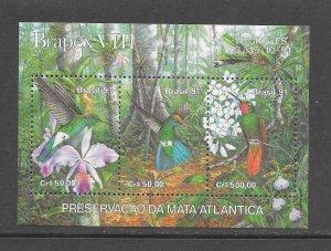 BIRDS - BRAZIL #2338  HUMMINGBIRDS  MNH
