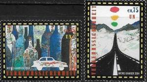 United Nations Vienna 2004 Road Safety SC# 347-348 MNH