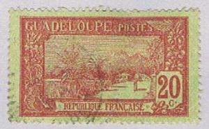 Guadeloupe 63 Used La Soufriere 1905 (BP30218)