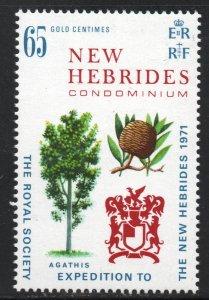 New Hebrides - British (1971)  - Scott # 148,   MNH