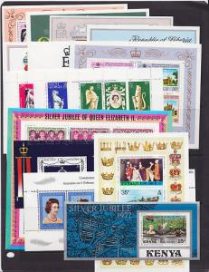 British Commonwealth, 1978 Silver Jubilee, 17 diff S/S