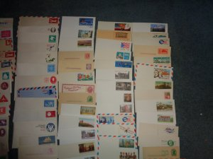 US POSTAL STATIONARY COLLECTION, MINT, ENTIRES, OVER 100+ ITEMS