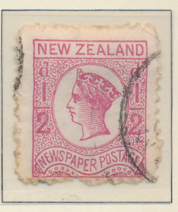 New Zealand Stamp Scott #P1a, Used, Perf 12.5x10 - Free U.S. Shipping, Free W...