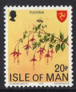 Isle of Man 1978 MNH  definitive set   20p  #