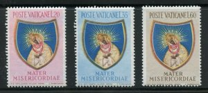 VATICAN CITY  SCOTT#189/91  MINT NEVER HINGED--SCOTT $23.90