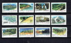 CANADA - 1993 CANADA DAY PROVINCIAL  PARKS - SCOTT 1472 TO 1483 - USED