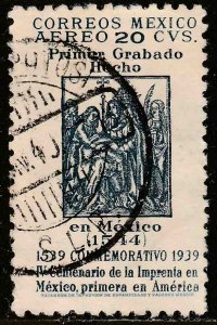MEXICO C97, 20¢ 400th Anniv 1st Printing Press in America Used. VF. (664)