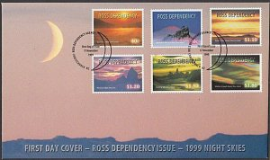 NEW ZEALAND ROSS DEPENDENCY 1999 Night Skies FDC............................L518