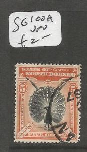 North Borneo SG 100a VFU (6cmp)