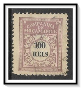 Mozambique Company #J7 Postage Due Used