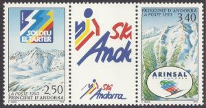ANDORRA-FRENCH SCOTT 423