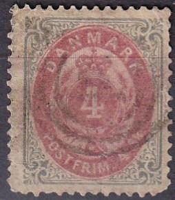 Denmark #18 Used CV $10.00 (A19304)