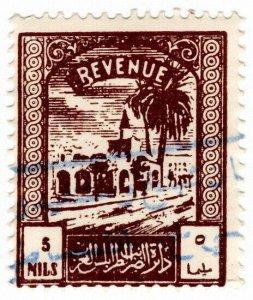 (I.B) BOIC (Tripolitania) Revenue : Duty Stamp 5m (1953)