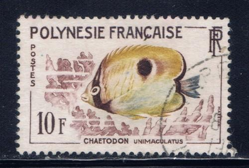 French Polynesia 200 Used 1962 issue
