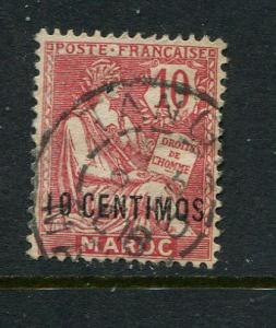 French Morocco #16 used