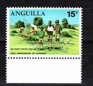 Anguilla 1970 Sc 95-8 MNH Commemorative Perforate Reverse Apostrophe Variety