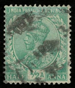 India, 1/2 Anna, King George V (T-6073)