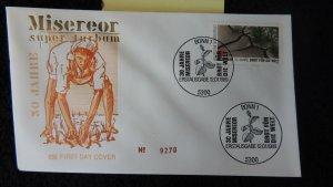 Germany 1989 FDC bread for the world miserior bonn PM GU food
