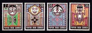 Papua New Guinea 1977 Folklore, Elema Art, Set [Mint]
