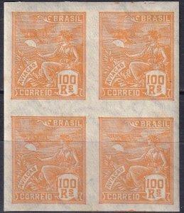 Brazil #332  MNH Imperf Block Of 4   V $80.00  (Z7192)