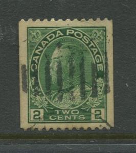 Canada  #131  Used  1915 KGV Single 2c Stamp