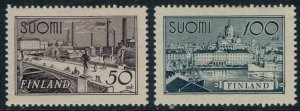Finland #239-40*  CV $7.25