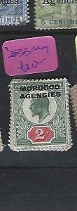 MOROCCO AGENCIES  (P2908B)  KE   2D  SG  33  MOG
